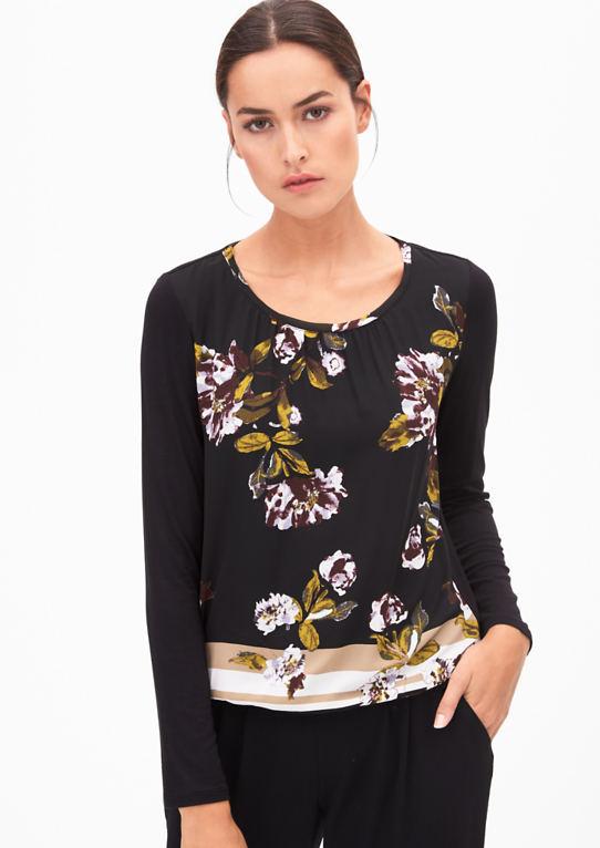 Блузки рубашки с шифона