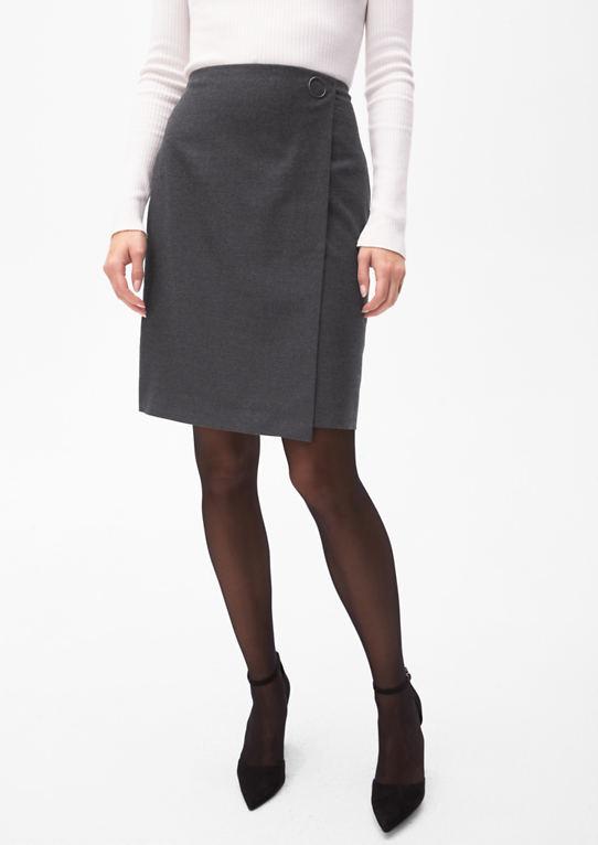 Фланель юбка в обмотки оптика