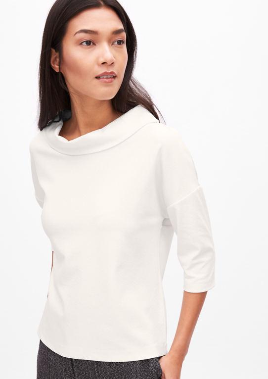 Жаккардовая Рубашка с воротником
