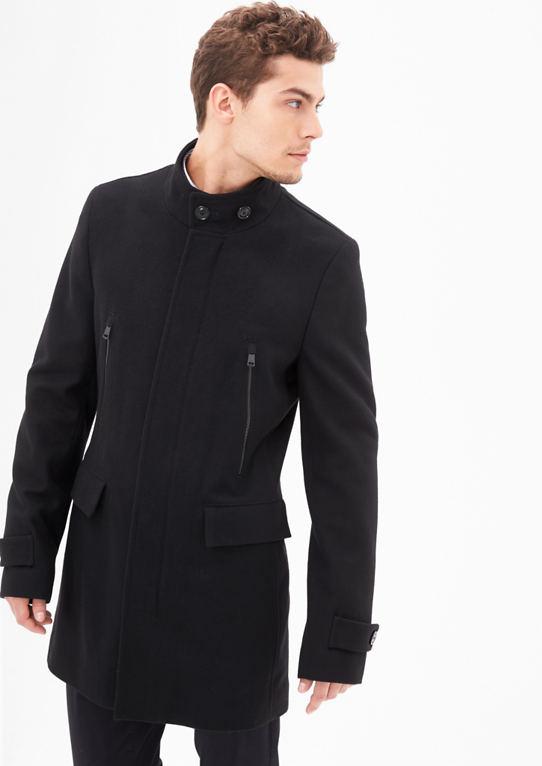 Slim Fit: шерстяное пальто на Вид чистые