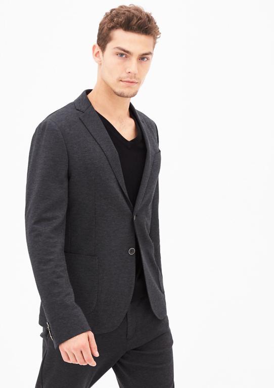 Jogg Suit: костюм пиджак с Webstruktur