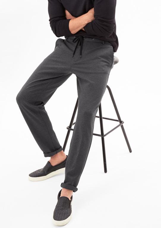 Jogg Suit: костюм брюки с Webstruktur