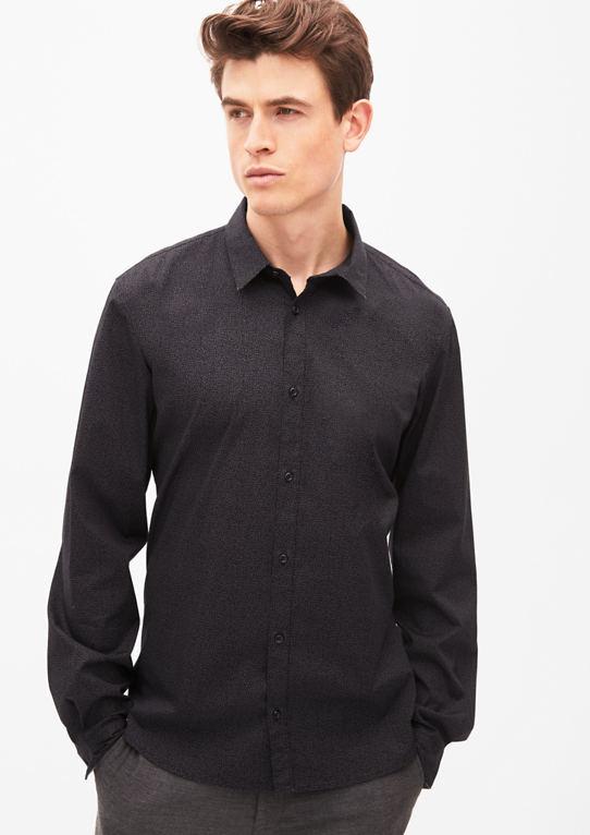 Slim: рубашка с минимальным узором