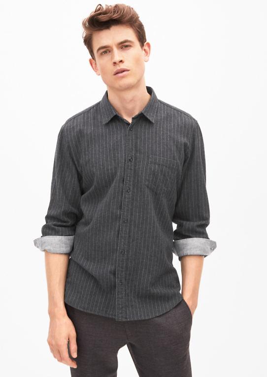 Modern Fit: Полосатые Фланелевые Рубашки