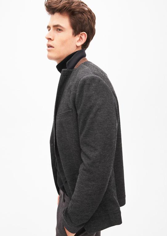 Napoli Slim: одноместный пиджак из Джерси