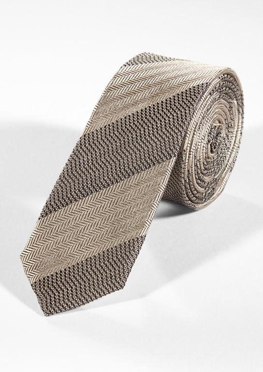 Шелковый галстук в Mustermix