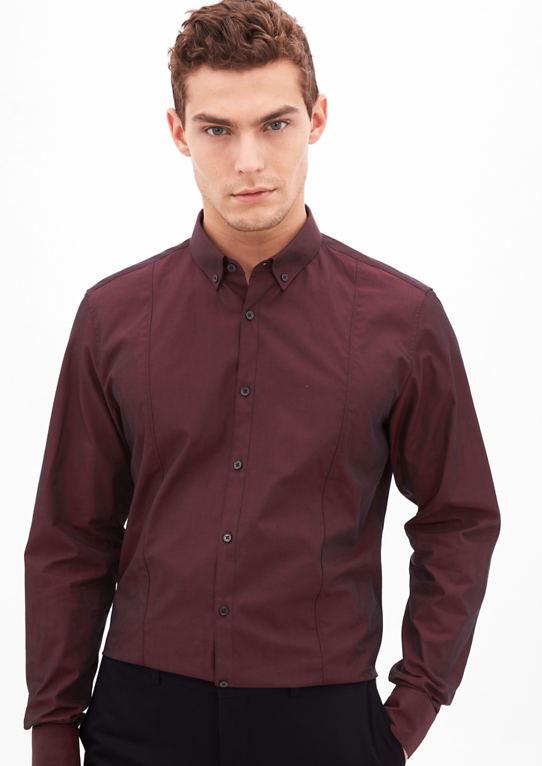 Modern Fit: рубашка с отливом
