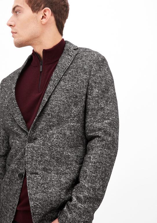Napoli Slim: пиджак шерсть с