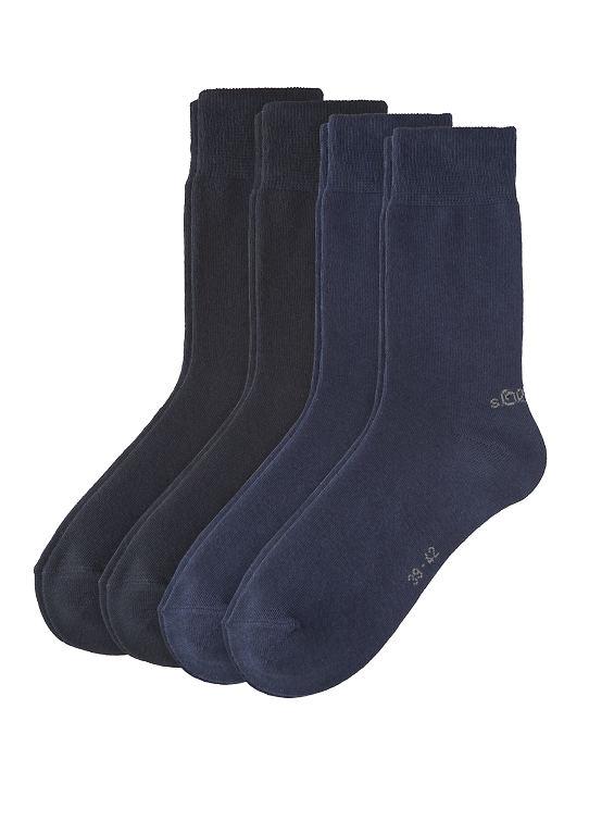4er-Pack короткие носки