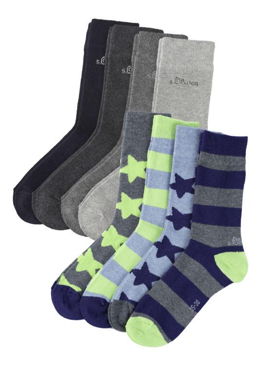 Расстояние до 8-пакет Socken