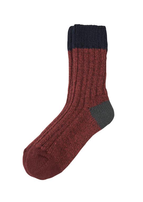 Вязаные носки из Wollmix