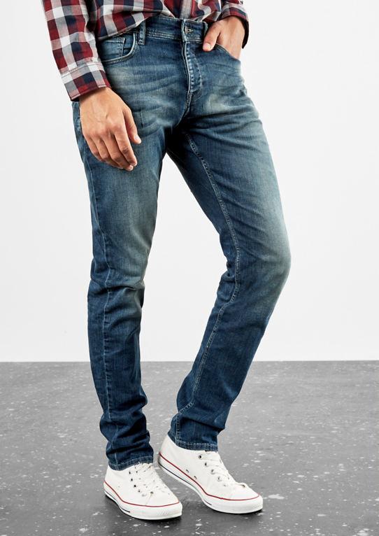 Рик Slim: джинсы с омовения