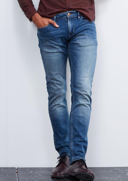 Рик тонкий: джинсы стрейч мти