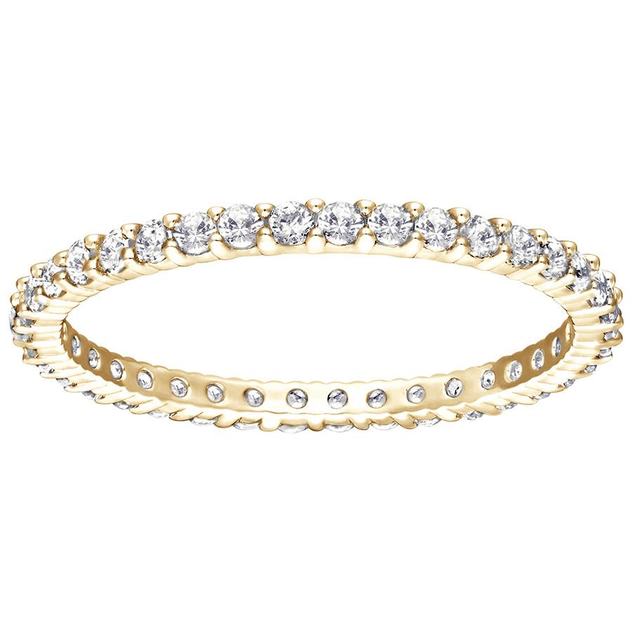 Витторе кольцо, белый, позолоченный